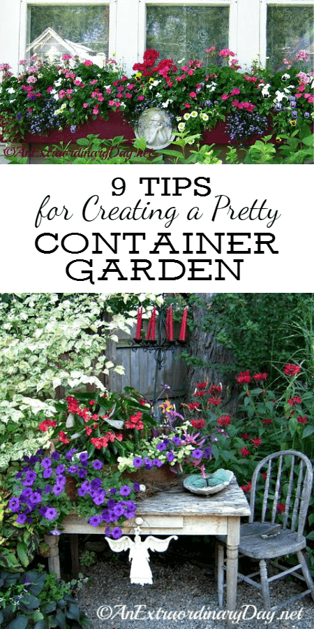 9 Tips for Creating a Pretty Container Garden that's Extraordinary