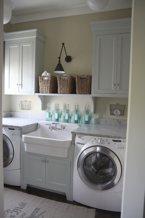 Gorgeous Laundry with Amazing Sink