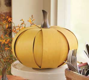 http://www.longaberger.com/lifestyle| Large Woven Pumpkin Handmade by Longaberger craftspersons in Ohio