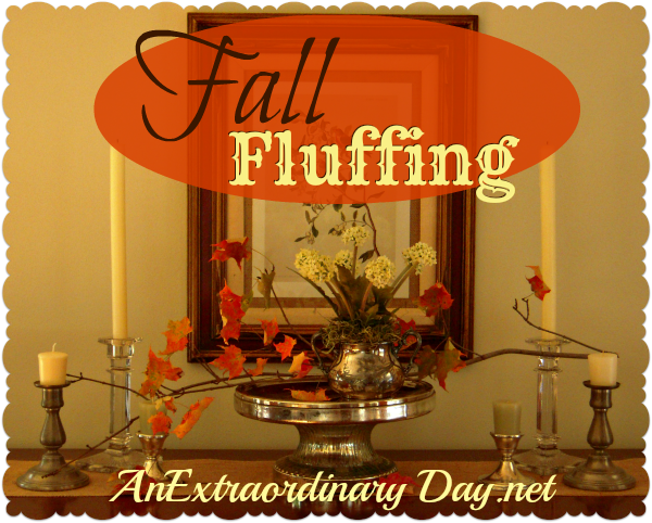 AnExtraordinaryDay.net | Day 9 {31 Extraordinary Days} Fall Fluffing
