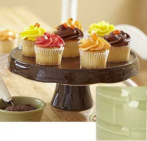 http://www.longaberger.com/lifestyle | Woven Traditions Pedestal Cake Plate on SALE at my Longaberger at Home shop online
