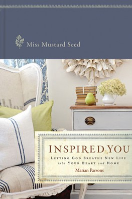 Miss Mustard Seed - Inspired You - Book Cover -1400320887