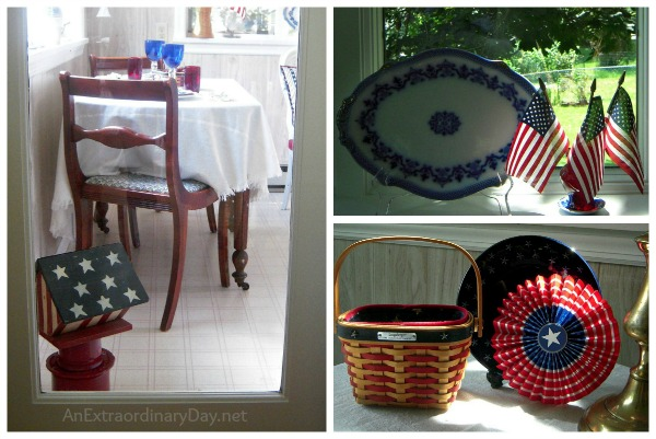 Red, White, & Blue Decor Accents :: AnExtraordinaryDay.net