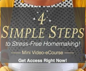 Stress-Free Homemaking Video eCourse