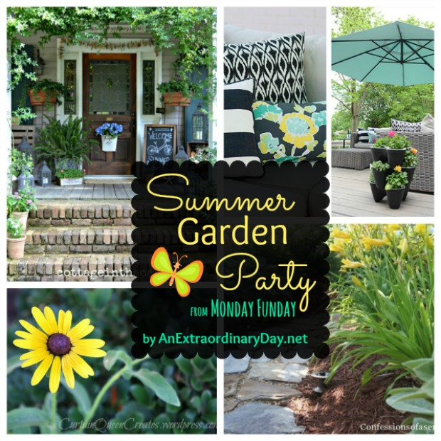 Summer Garden Party from Monday Funday Link Party {23} :: AnExtraordinaryDay.net