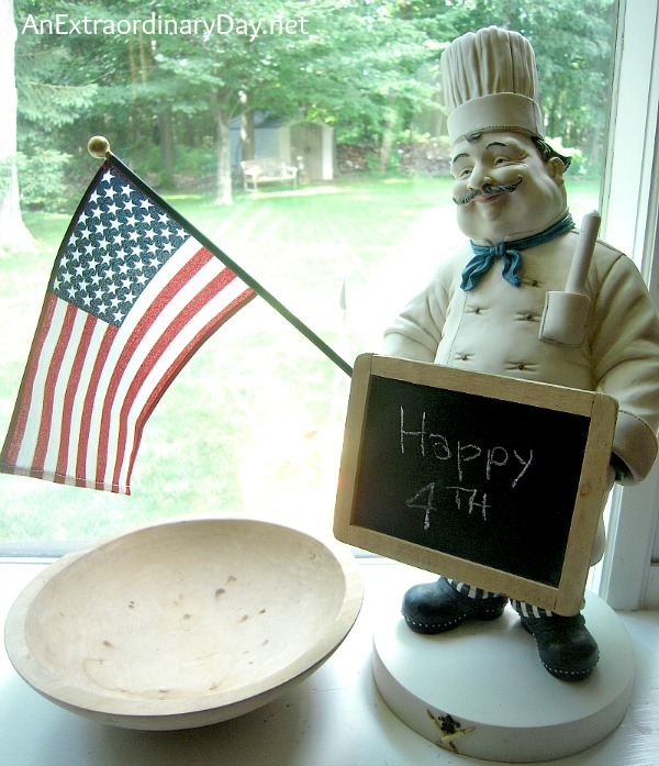 French Chef wishes us a Happy 4th :: AnExtraordinaryDay.net