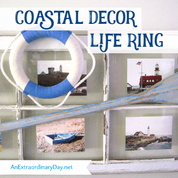Coastal Decor Life Ring Tutorial