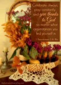 Giving Thanks with a Grateful Heart :: Joy Day!