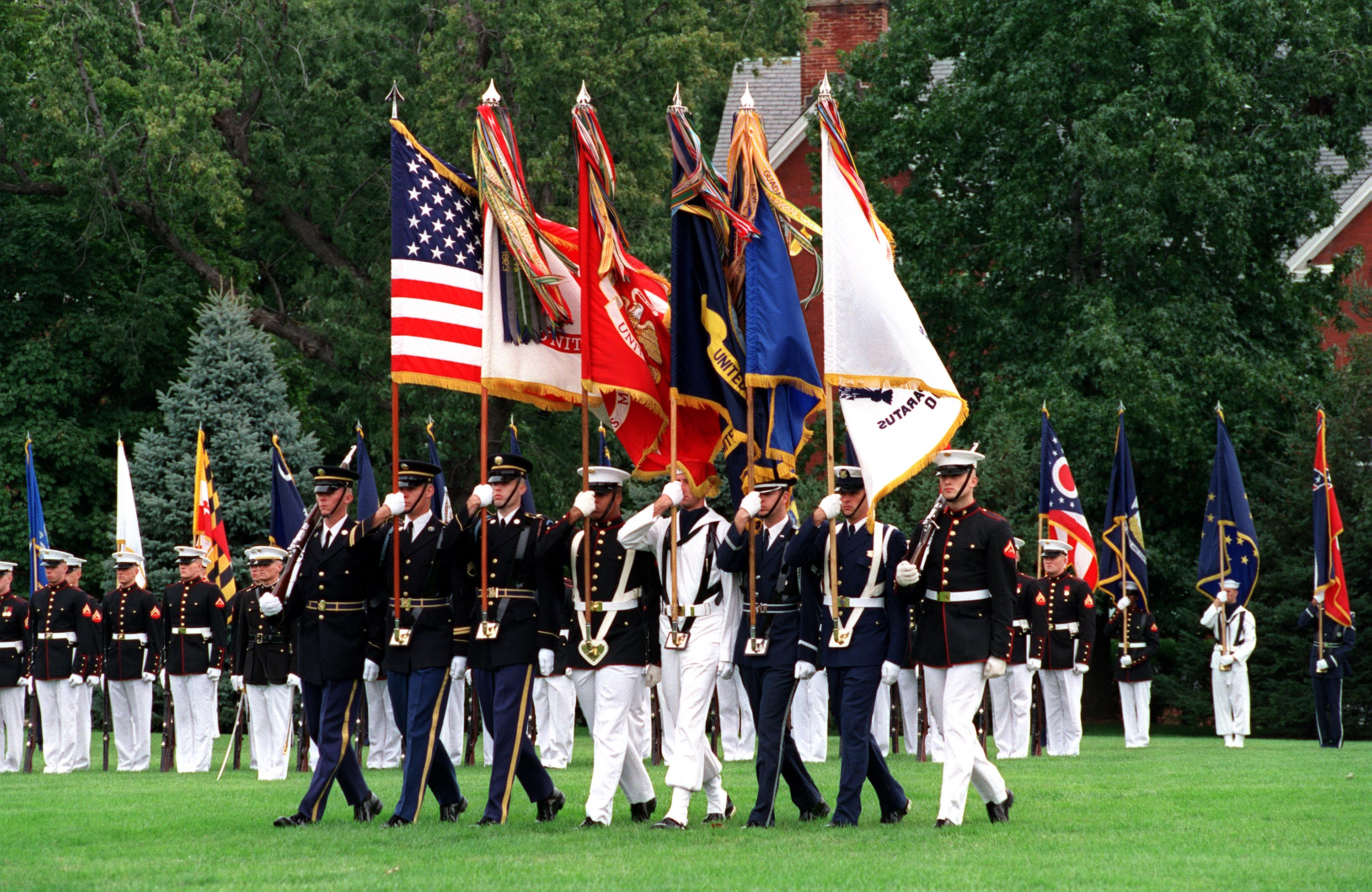 United State Military Jointcolors :: Veterans' Day :: AnExtraordinaryDay.net