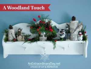 A Woodland Touch :: 12 Days of Christmas :: AnExtraordinaryDay.net