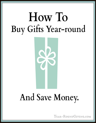 Extraordinary Tips for Year Round Gift-Giving by Year Round Giving.com :: featured on Project Inspire{d} by AnExtraordinaryDay.net