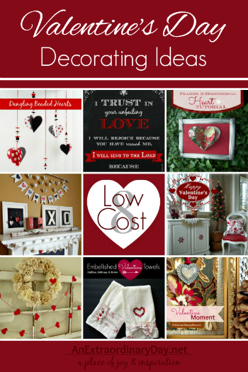 8 Low Cost Valentine Decorating Ideas