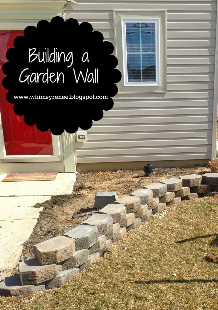 Building a Garden Wall by Whimsy Renee - a Project Inspired Featured at AnExtraordinaryDay.net