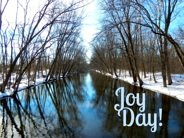 Joy Day!  Grand River  AnExtraordinaryDay.net