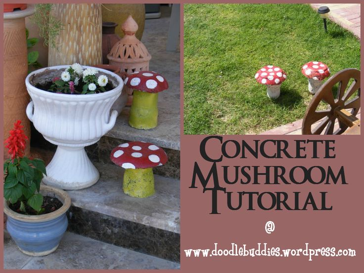 doodlebuddies mushrooms tutorial ::  a project inspired feature at anextraordinaryday.net