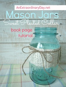 Dress up a Mason Jar |  Project Inspire{d} Link Party 70 and Features