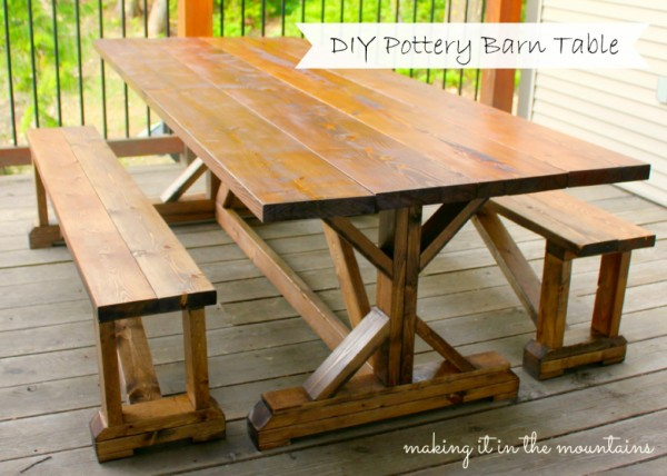 http://www.makingitinthemountains.com/pottery-barn-knockoff-table/