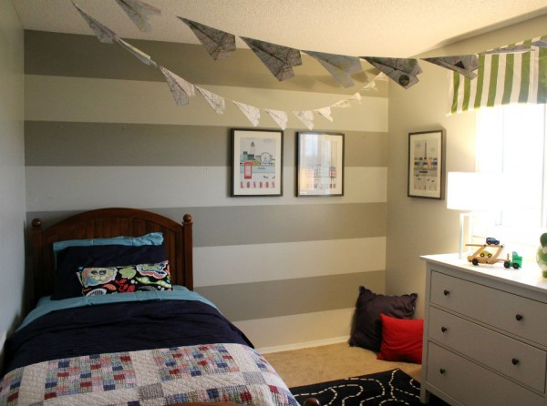 Brooklyn Designs - Twin Boy's Room - AnExtraordinaryDay.net feature