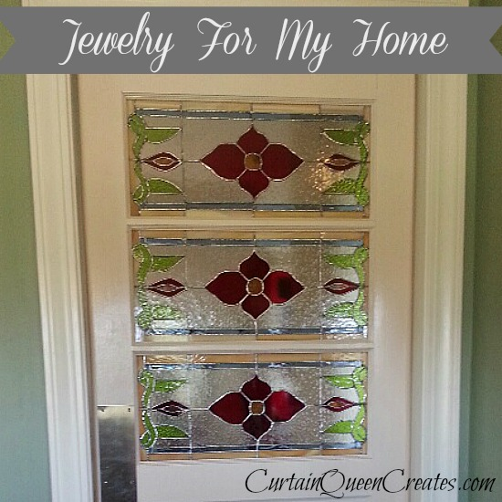 Curtain Queen Creates - Swinging Door - featured at AnExtraordinaryDay.net