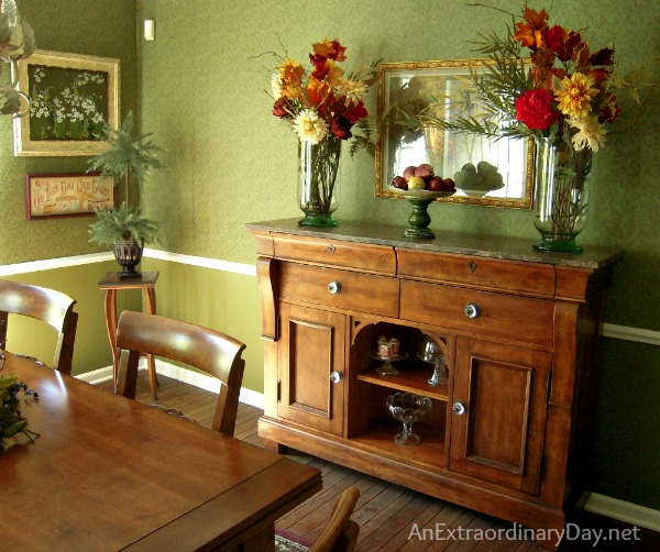 Fall House Tour :: Jewel Tones of Fall :: Dining Room