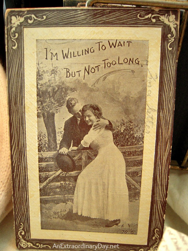 Vintage Photo :: Vintage Love Letter Vignette