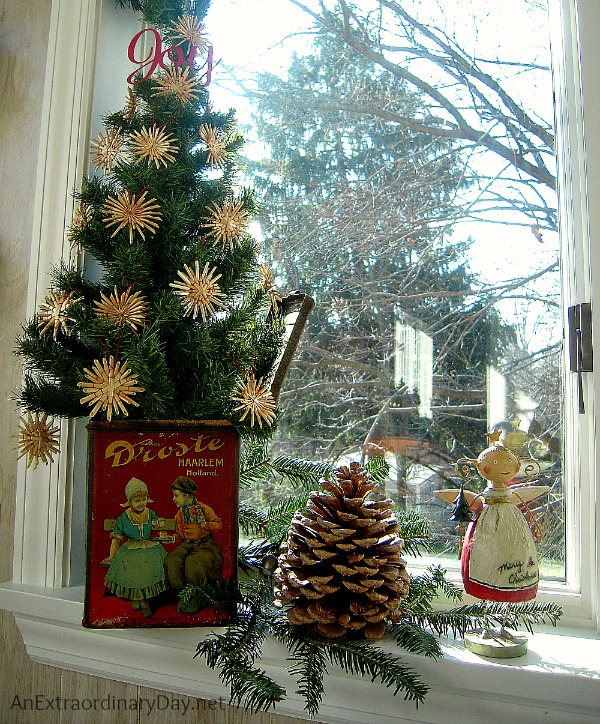 Ask yourself what story are you trying to tell when creating Christmas memories with vignettes.