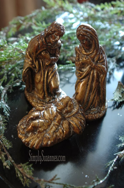 Nativity Scene from Simply Suzannes