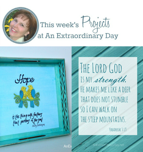 This week 1-2-15 at An Extraordinary Day