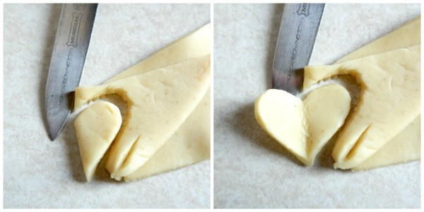 Heart Tutorial - Easy Dainty Envelope Fruit Tarts - AnExtraordinaryDay.net
