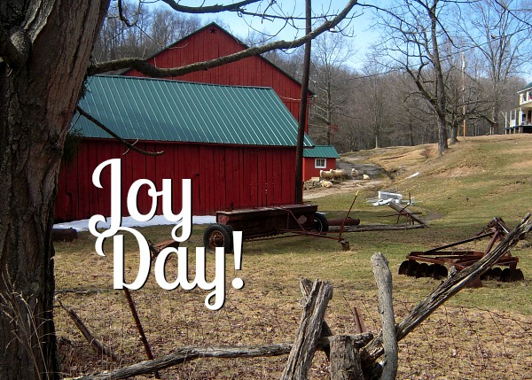 JoyDay! the day we take time to count our blessings in community.