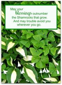 Shamrock Blessing Printable | Project Inspire{d} #110