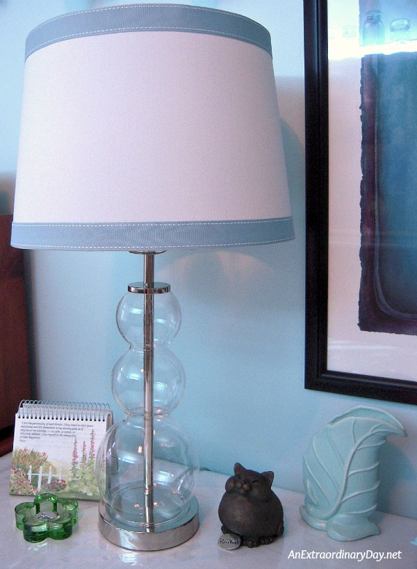 How to Give a Lampshade a Quick and Easy Makeover - AnExtraordinaryDay.net