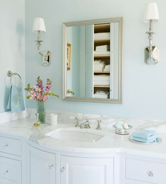 BHG - pale blue bathroom