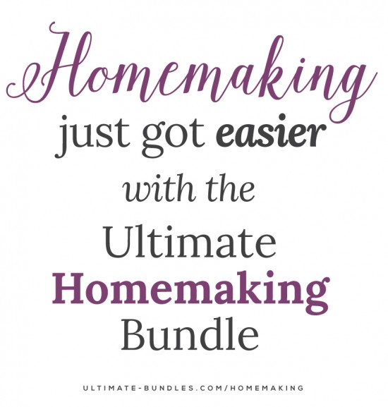 Homemaking just got easier with the Ultimate Homemaking Bundle