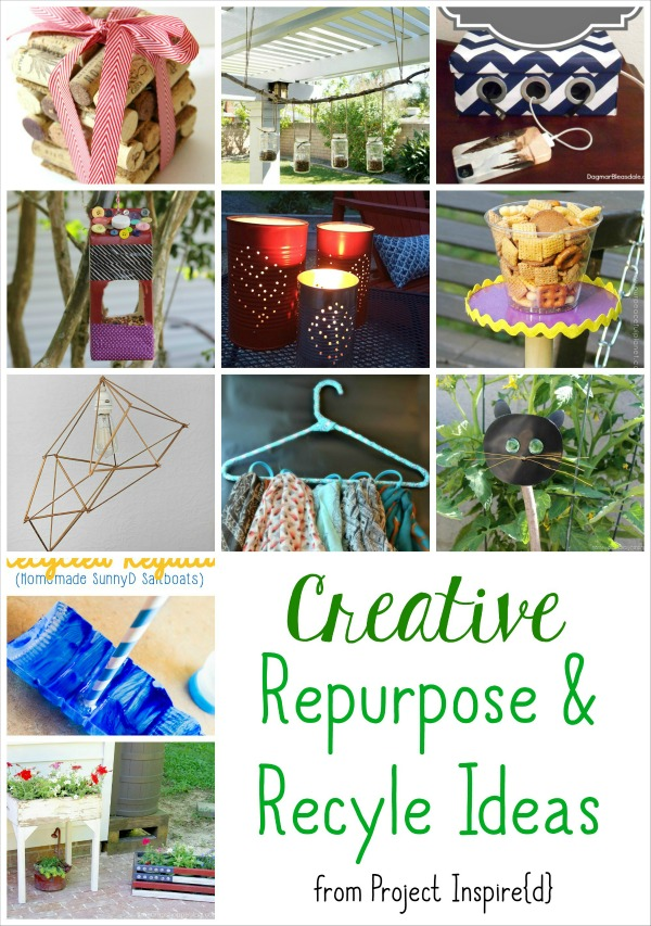 Creatively Repurpose and Recycle Items for Your Home