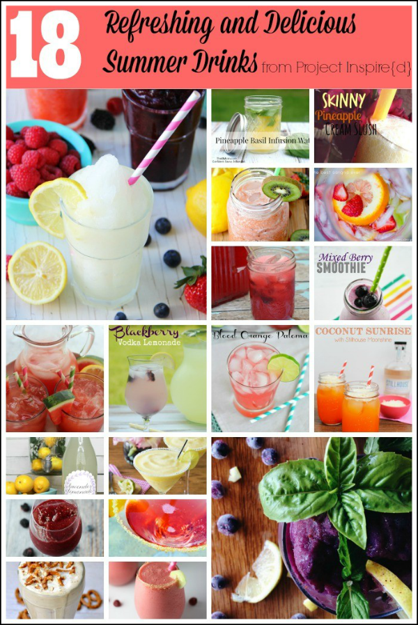 Refreshing Summer Drinks | Delicious Drink Recipes