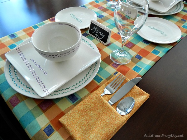 Daily Grace Table Setting