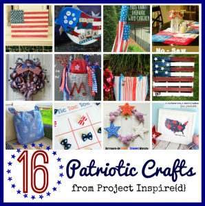 16 Patriotic Crafts to Make at Home