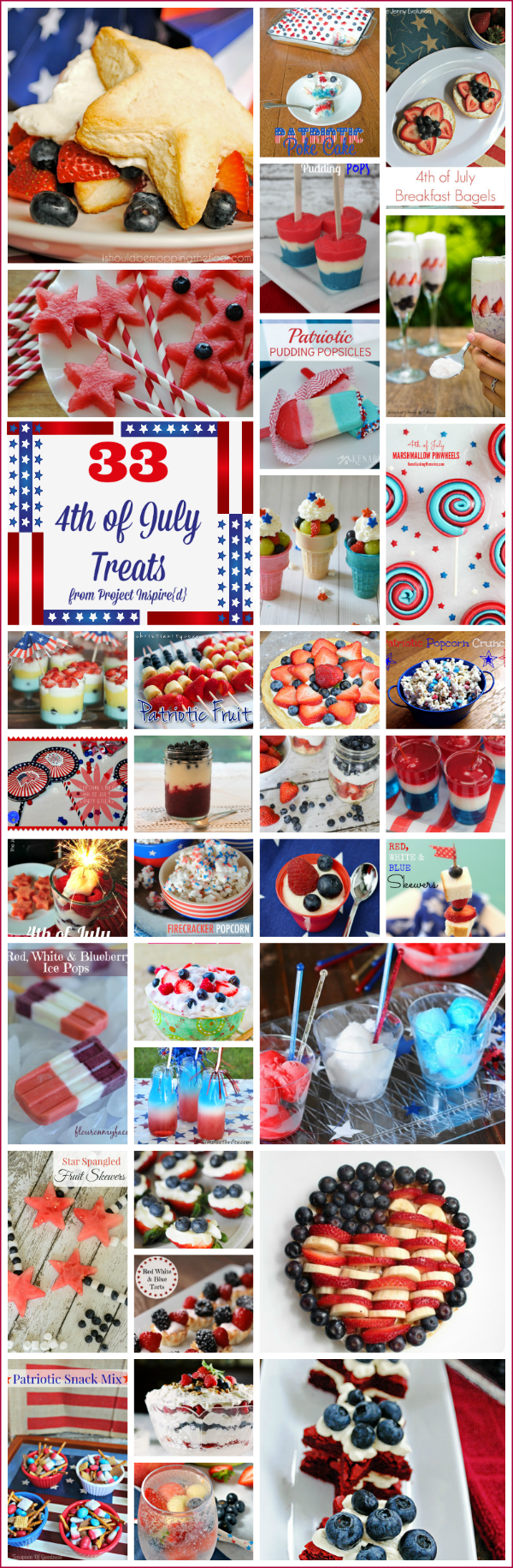 33 Sweet and Tasty 4th of July Recipes