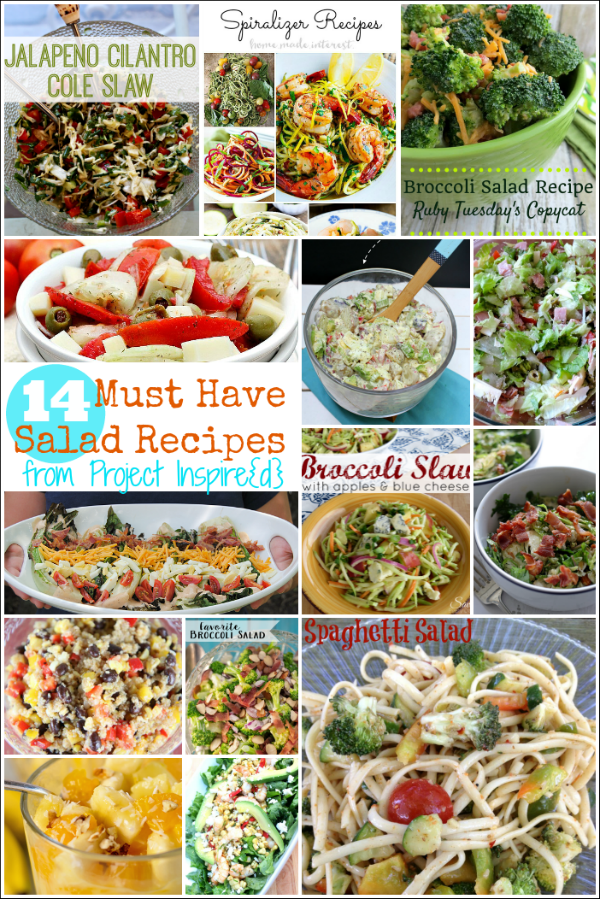 Tantalize your taste buds with one of these delicious must have summer salad recipes from Project Inspire{d}