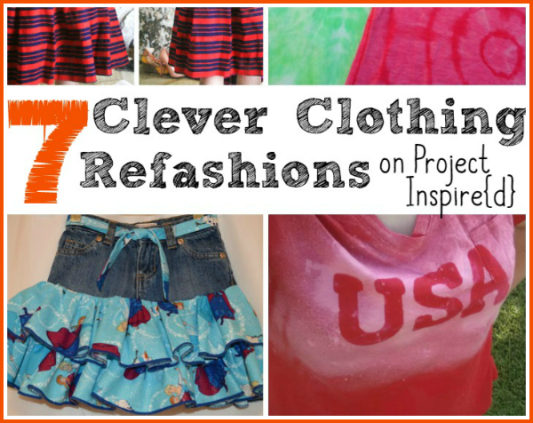 7 Clever Clothing Refashions on Project  Inspire{d}