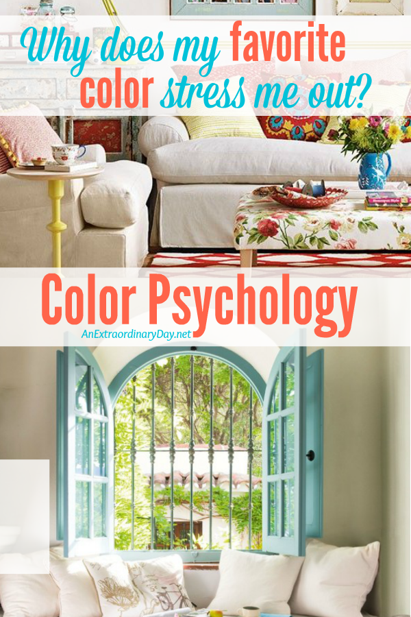 Color psychology & Helps for making home decor color design choices