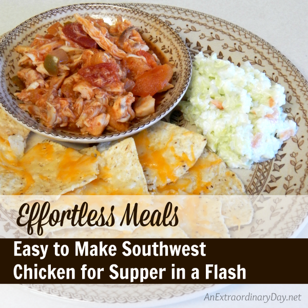 #Shop #EffortlessMeals Easy to Make Southwest Chicken for Supper in a Flash