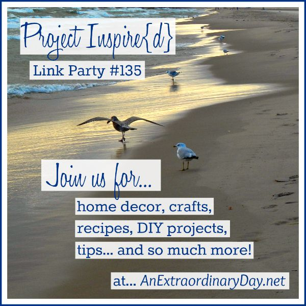 Project Inspired Link Party 135