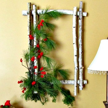Birch Wreath Tutorial by AnExtraordinaryDay.net