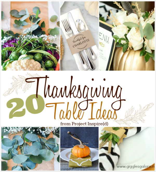 20 Ways to Make Your Thanksgiving Table Extra Special - AnExtraordinaryDay.net