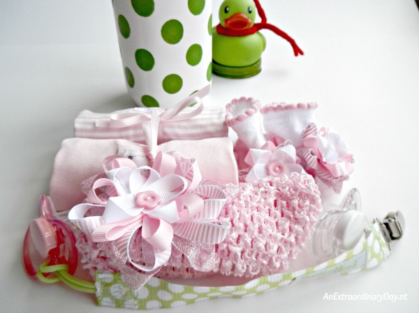 Whimsical Mason Jar Christmas Gift for Baby Girl - Gift ready to insert in jar - AnExtraordinaryDay.net