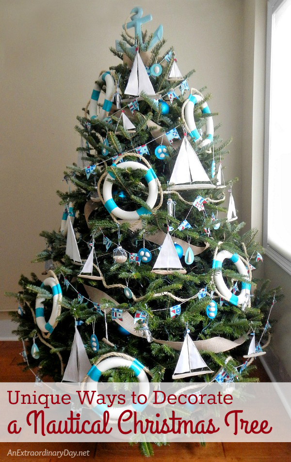 Fun and Unique Ways to Decorate a Nautical Christmas Tree