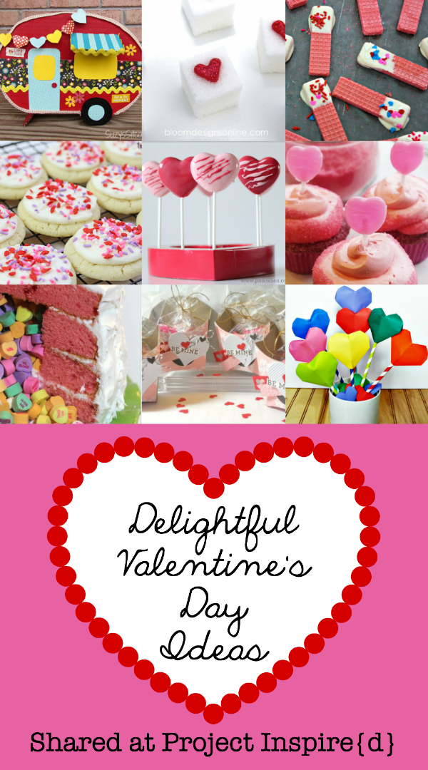 I know you're going to love these Deliciously Delightful Valentine's Day Ideas! From cute crafts to delicious recipes... you're going to bless someone for sure!!