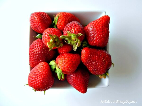 The Ultimate Recipe Challenge - Strawberries - AnExtraordinaryDay.net